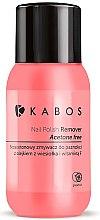 Духи, Парфюмерия, косметика Жидкость для снятия лака с грейпфрутом - Kabos Nail Polish Remover