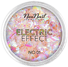 Духи, Парфюмерия, косметика Блестки для дизайна ногтей - NeoNail Professional Electric Effect Flakes