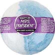 Духи, Парфюмерия, косметика Бомбочка для ванны с маслом сладкого миндаля - Beauty Jar MRS. President