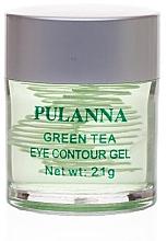 Духи, Парфюмерия, косметика Тонизирующий гель для глаз - Pulanna Green Tea Eye Countour Gel