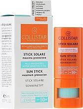 Духи, Парфюмерия, косметика Солнцезащитный стик - Collistar Sun Stick SPF 50+