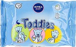 Духи, Парфюмерия, косметика Влажные салфетки детские - Nivea Baby Toddies Multifunctional Napkins