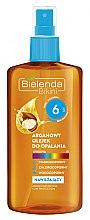 Духи, Парфюмерия, косметика Аргановое масло для загара SPF6 - Bielenda Bikini Argan SunTan Oil
