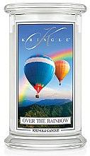Духи, Парфюмерия, косметика Ароматическая свеча в банке - Kringle Candle Over the Rainbow