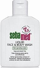 Духи, Парфюмерия, косметика Очищающий лосьон для лица и тела - Sebamed Liquid Face and Body Wash