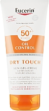 Духи, Парфюмерия, косметика Солнцезащитный ультралегкий гель-крем с матирующим эффектом - Eucerin Oil Control Dry Touch Sun Gel-Cream SPF50+