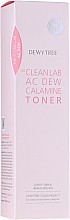 Духи, Парфюмерия, косметика Успокаивающий тонер с каламином для лица - Dewytree The Clean Lab AC Dew Calamine Toner