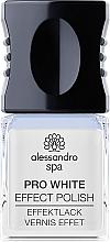 Духи, Парфюмерия, косметика Отбеливающий топ для гель-лака - Alessandro Spa Pro White Effect Polish