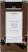 Духи, Парфюмерия, косметика Краска для волос - Korres Argan Oil Hair Colorant