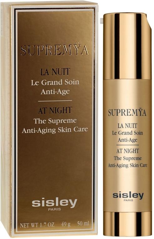 Комплексный ночной крем-сыворотка с омолаживающим эффектом - Sisley Supremya At Night The Supreme Anti-Aging Skin Care — фото N4