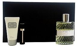 Духи, Парфюмерия, косметика Christian Dior Eau Sauvage - Набор (edt 100ml + sh/g 50ml + edt 3ml)