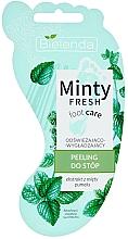 Духи, Парфюмерия, косметика Скраб для ног, освежающий и разглаживающий - Bielenda Minty Fresh Foot Care Refreshing & Smoothing Foot Peeling