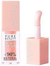 Духи, Парфюмерия, косметика Масло для губ - Astra Pure Beauty Juicy Lip Oil