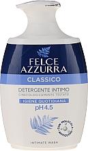 """Духи, Парфюмерия, косметика Жидкое деликатное мыло для интимной гигиены """"Классическое"""" - Felce Azzurra Classic Intimate Wash"""