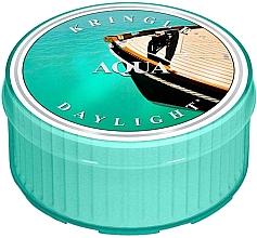Духи, Парфюмерия, косметика Чайная свеча - Kringle Candle Aqua Daylight