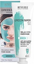 Духи, Парфюмерия, косметика Маска для лица - Revuele Anti-Acne Green Face Mask Cryo Effect