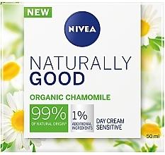 Духи, Парфюмерия, косметика Дневной крем для чувствительной кожи лица - Nivea Naturally Good Day Sensitive Care