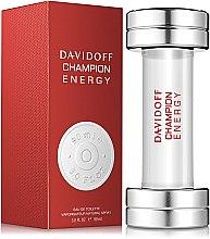 Духи, Парфюмерия, косметика Davidoff Champion Energy - Туалетная вода