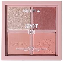 Духи, Парфюмерия, косметика Палетка для макияжа лица - Moira Spot On Face Palette