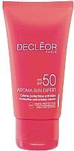 Духи, Парфюмерия, косметика Крем защитный для лица с антивозрастным эффектом SPF50 - Decleor Aroma Sun Expert Protective Anti-Wrinkle Cream