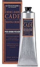 """Крем для бритья """"Можжевельник"""" - L'Occitane Cade Shaving Cream Men — фото N2"""