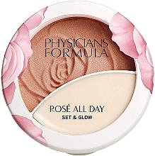 Духи, Парфюмерия, косметика Пудра-бальзам для лица - Physicians Formula Rose All Day Set & Glow