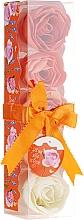 "Духи, Парфюмерия, косметика Конфетти для ванны ""Апельсин"", 5 шт - Spa Moments Bath Confetti Orange"