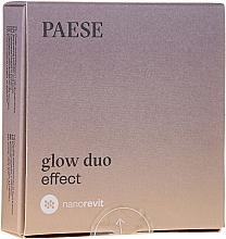Духи, Парфюмерия, косметика Пудра и румяна для лица - Paese Nanorevit Glow Duo Effect Powder And Blush