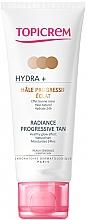 Духи, Парфюмерия, косметика Крем-автозагар для лица и шеи - Topicrem Hydra+ Radiance Progressive Tan