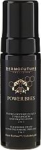 Духи, Парфюмерия, косметика Очищающая пенка с энзимным пилингом 2в1 - Dermofuture Power Bees Cleansing Foam 2in1