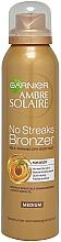 Духи, Парфюмерия, косметика Спрей-автозагар - Garnier Ambre Solaire No Streaks Bronzer Medium Self Tan Body Mist