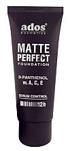 Духи, Парфюмерия, косметика Матирующий тональный крем - Ados Matte Perfect Foundation