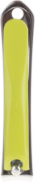 Кусачки для ногтей 77630, L, зеленые - Top Choice Colours Nail Clippers — фото N1