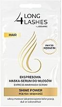 Духи, Парфюмерия, косметика Маска-сыворотка для волос - Long4Lashes Hair Shine Power