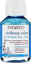 Духи, Парфюмерия, косметика Ополаскиватель для полости рта - Sylveco Herbal Mouthwash (мини)