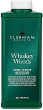 Духи, Парфюмерия, косметика Clubman Pinaud Whiskey Woods - Тальк универсальный