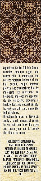 Сыворотка для роста волос - Arganicare Castor Oil Hair Serum — фото N3