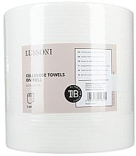 Духи, Парфюмерия, косметика Одноразовые полотенца, 26х26 см - Lussoni Cellulose Towels On Roll
