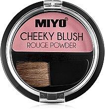 Духи, Парфюмерия, косметика Румяна для лица - Miyo Cheeky Blush Rouge Powder