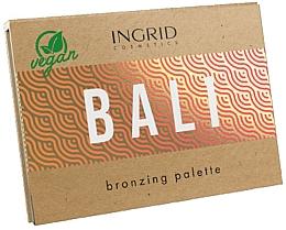 Духи, Парфюмерия, косметика Палитра бронзеров для лица - Ingrid Cosmetics Bali Bronzing Palette