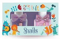 Духи, Парфюмерия, косметика Набор детских лаков для ногей 2х10,5ml - Snails Mini Bebe Music Is My Life