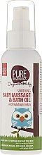 Духи, Парфюмерия, косметика Масло для купания и массажа - Pure Beginnings Soothing Baby Massage and Bath Oil