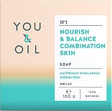 Духи, Парфюмерия, косметика Питательное мыло для комбинированной кожи - You & Oil Nourish & Balance Combination Skin