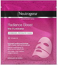 Духи, Парфюмерия, косметика Гидрогелевая восстанавливающая маска для лица - Neutrogena Hydro Boost Radiance Boost Hydrogel Recovery Mask