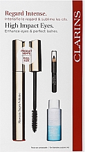 Духи, Парфюмерия, косметика Набор - Clarins (mascara/8ml + makeup/remover/10ml + eye/pencil/0.39g)