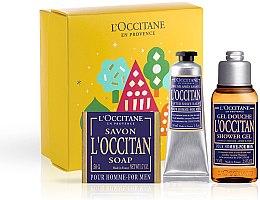 Духи, Парфюмерия, косметика L'Occitane Pour Homme - Набор (sh/gel/75ml + ash/balm/30ml + soap/50g)