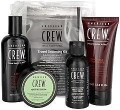 Духи, Парфюмерия, косметика Набор - American Crew Travel Grooming Kit (gel/100 ml + cr/50 g + sh/gel/100 ml+ sh/cr/50 ml)