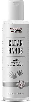 Дезинфицирующее средство для рук и кожи - Wooden Spoon Natural Clean Hands — фото N1