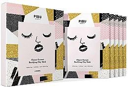 Духи, Парфюмерия, косметика Набор - Pibu Beauty Flower Extract Purifying Clay Mask Set (f/mask/5x18g)