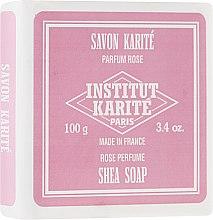 Духи, Парфюмерия, косметика Мыло - Institut Karite Rose Shea Soap